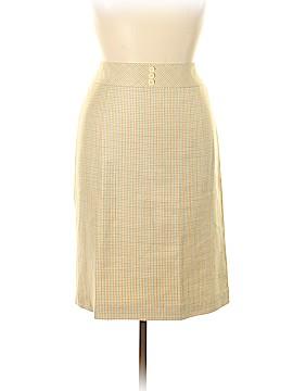 Brooks Brothers Silk Skirt Size 16
