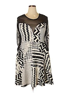 Janette Plus Casual Dress Size 1X (Plus)