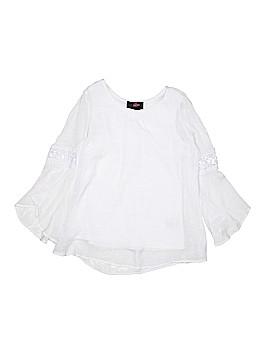 Iz Byer Long Sleeve Blouse Size 10