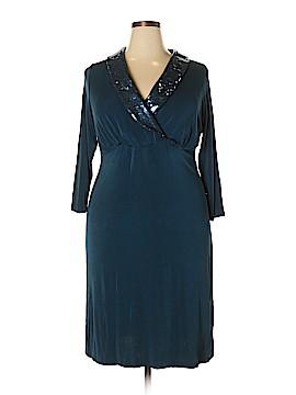 Slinky Brand Cocktail Dress Size 1X (Plus)
