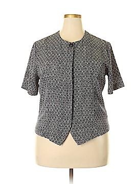 Christie & Jill Short Sleeve Blouse Size 16
