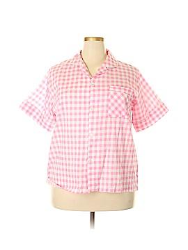 Anthony Richards Short Sleeve Blouse Size 1X (Plus)