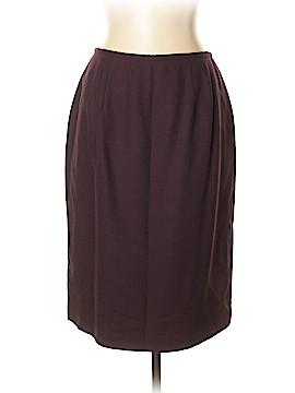 Valerie Stevens Wool Skirt Size 14