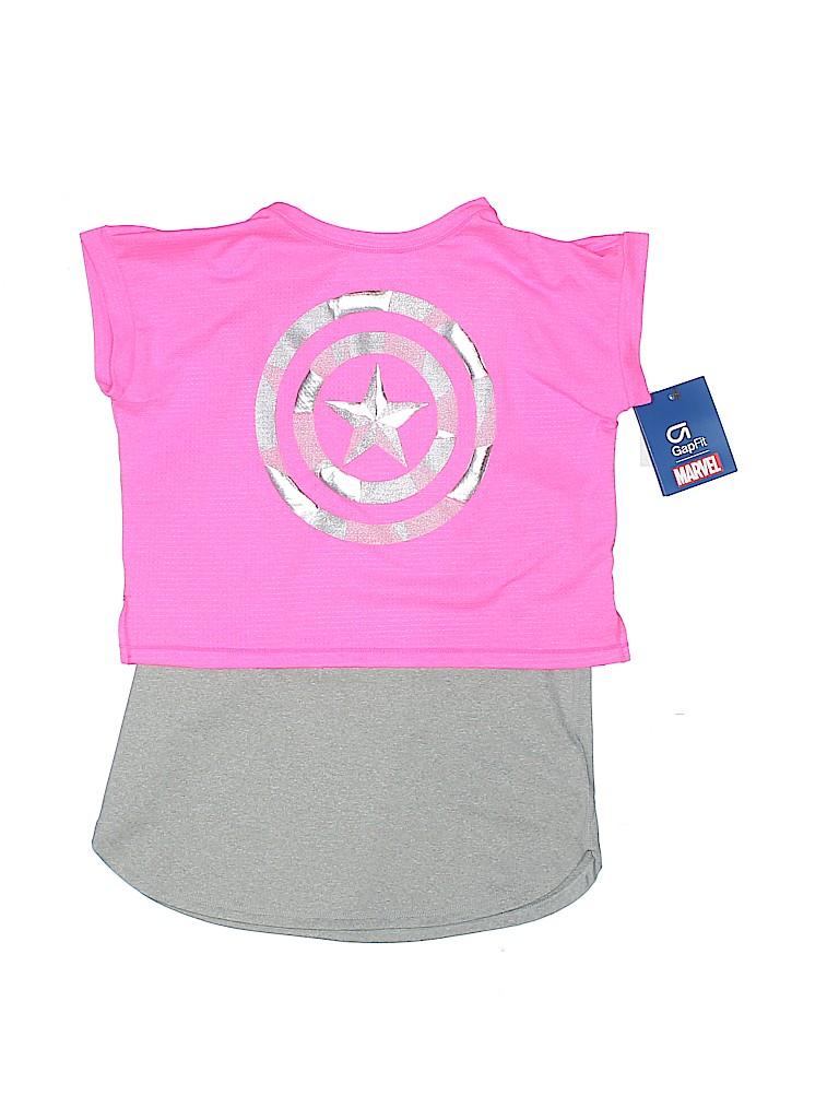 cb4aada9a302 Gap Fit Graphic Pink Active T-Shirt Size S (Kids) - 62% off | thredUP