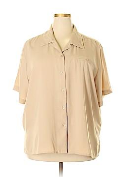 Joanna Plus Short Sleeve Blouse Size 3X (Plus)