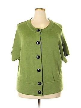 Style&Co Wool Cardigan Size 2X (Plus)