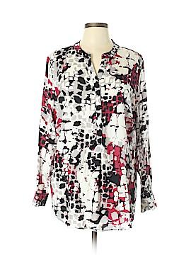 Diane Gilman Long Sleeve Blouse Size XL