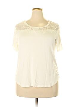 Valerie Bertinelli Short Sleeve Top Size 2X (Plus)