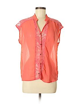 Tea n Rose Short Sleeve Blouse Size M