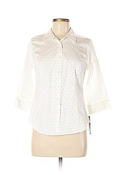 Apt. 9 3/4 Sleeve Button-Down Shirt Size M (Petite)