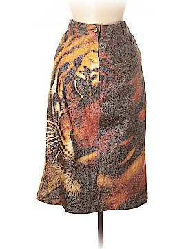 Roberto Cavalli Denim Skirt Size L