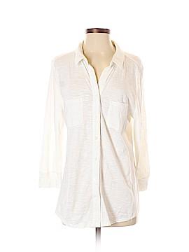 Merona 3/4 Sleeve Button-Down Shirt Size XL