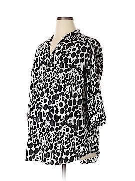 Liz Lange Maternity for Target 3/4 Sleeve Blouse Size XL (Maternity)