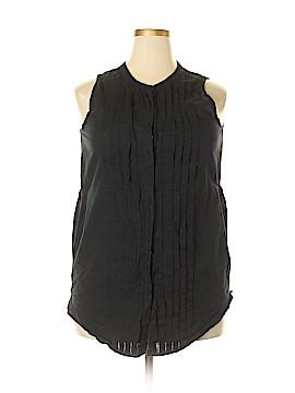 DKNY Sleeveless Blouse Size XL