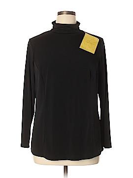 Simonton Says Long Sleeve Top Size 1X (Plus)