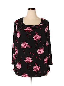 Jaclyn Smith 3/4 Sleeve Blouse Size 2X (Plus)