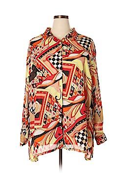 R.Q.T Long Sleeve Blouse Size 3X (Plus)