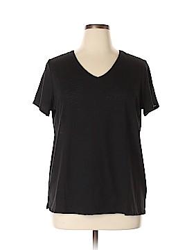 IMAN Short Sleeve T-Shirt Size 1X (Plus)