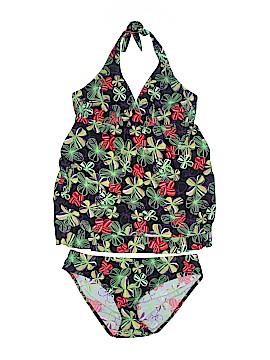 Prego Swimwear Two Piece Swimsuit Size XL (Maternity)