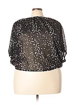 Angie 3/4 Sleeve Blouse Size 2X (Plus)