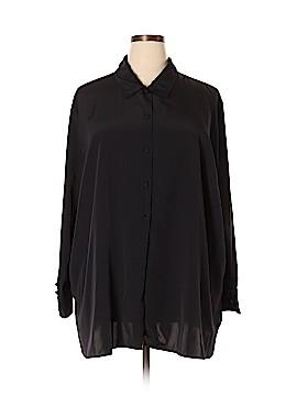 Maggie Barnes Long Sleeve Blouse Size 28 (Plus)