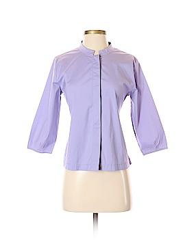 Eileen Fisher 3/4 Sleeve Button-Down Shirt Size S