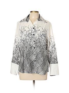 Mishca Long Sleeve Button-Down Shirt Size XL