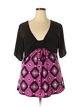 Goddess Short Sleeve Top Size 2X (Plus)