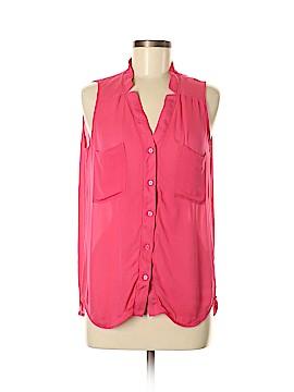 Love Token Sleeveless Silk Top Size M