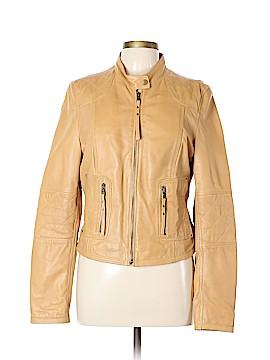 Black Rivet Leather Jacket Size L