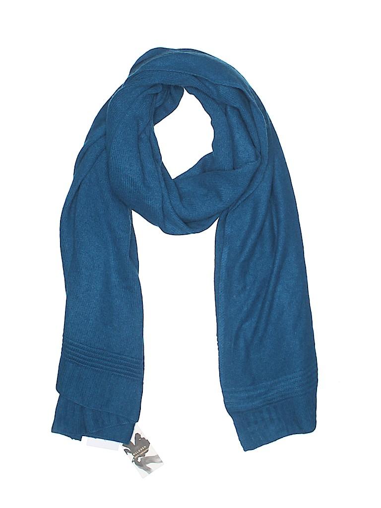 4758b7976 Halogen 100% Cashmere Solid Navy Blue Cashmere Scarf One Size - 60 ...