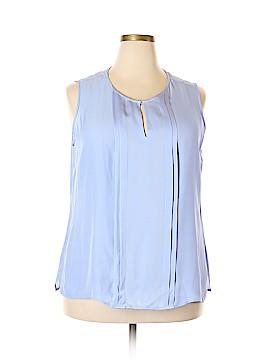 Talbots Short Sleeve Silk Top Size 18 (Plus)