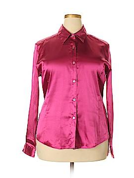 Christie & Jill Long Sleeve Blouse Size 18 (Plus)