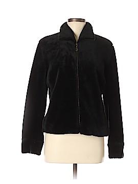British Khaki Faux Fur Jacket Size M