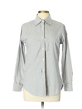 Nili Lotan Long Sleeve Button-Down Shirt Size L