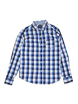 Nautica Long Sleeve Button-Down Shirt Size 14