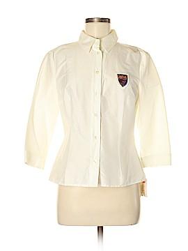 Mondi 3/4 Sleeve Button-Down Shirt Size 38 (FR)