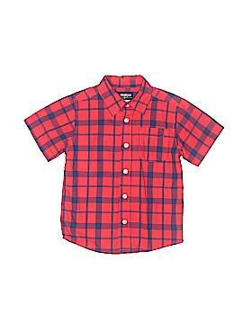 OshKosh B'gosh Short Sleeve Button-Down Shirt Size 3T
