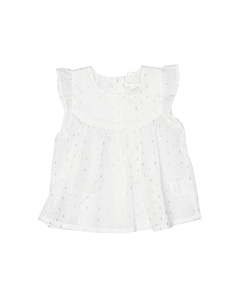 Purebaby Girls Sleeveless Blouse Size 6-12 mo