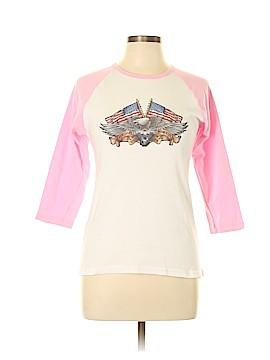 American Apparel 3/4 Sleeve T-Shirt Size XL