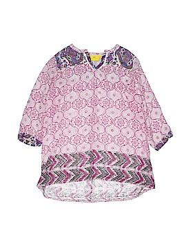 Roberta Roller Rabbit Short Sleeve Blouse Size 10