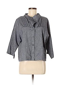 Babette 3/4 Sleeve Button-Down Shirt Size S