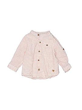 Zara Baby Long Sleeve Button-Down Shirt Size 3-6 mo