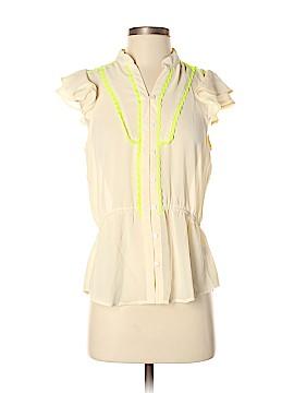 Entro Short Sleeve Blouse Size M