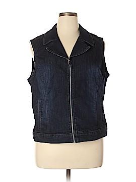 Style&Co Denim Vest Size XL