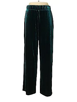 Susan Graver Velour Pants Size L