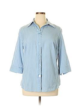 DressBarn 3/4 Sleeve Button-Down Shirt Size 16