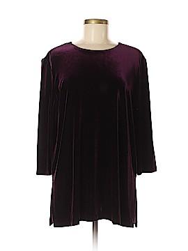 R&M Richards Long Sleeve Blouse Size 16 (Petite)