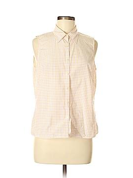 Brooks Brothers 346 Sleeveless Button-Down Shirt Size M