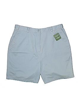 L.L.Bean Khaki Shorts Size 18 (Plus)